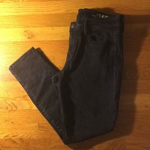 Like new Gap skinny black leggings jeans 30p